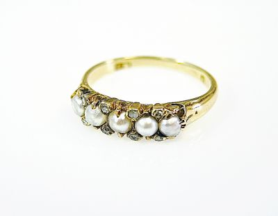Vintage-Pearl-and-Diamond-Ring-CFA1407102-78207