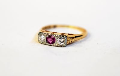 Vintage-Pink-Sapphire-and-Diamond-Ring-AGL66213-82725