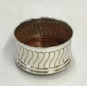 Vintage Sterling Silver Bottle Coaster