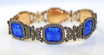 Vintage-Style-Diamond-and-Enamel-Bracelet-CFA180844-78637a