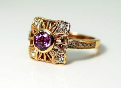 Vintage-Style-Pink-Sapphire-and-Diamond-Ring-AGL90833-84985aa