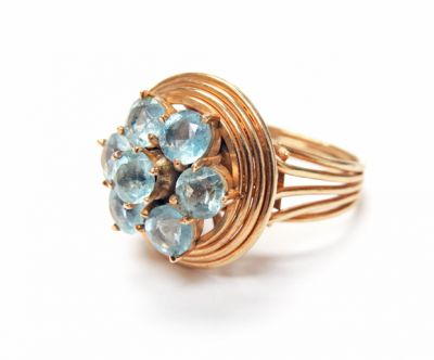 Vintage Aquamarine Ring CFA1506149 79618