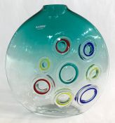 Vintage Barbini Murano Glass Vase