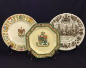Vintage Canadian Commemorative Plates