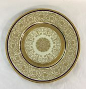 Set of 8 Vintage Czech Dinner Plates