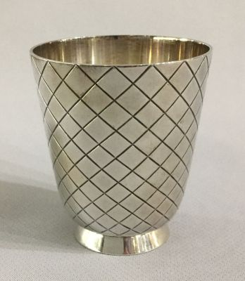 Vintage Georg Jensen Sterling Silver Shot Glass  819B b