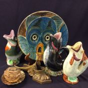 Vintage Majolica Collection