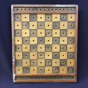Vintage Pegged Games Board