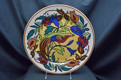 Vintage Royal Doulton Bird of Paradise D4602 Rack Plate
