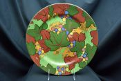Vintage Royal Doulton Leaves and Berries Rack Plate
