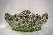 Vintage Royal Doulton Persian Parrot Chintz Pattern Serving Bowl
