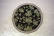 Vintage Royal Doulton Prunus Pattern D3832 Twelve Sided Plate