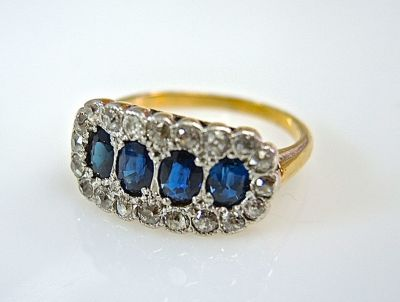 Vintage Sapphire and Diamond Ring CFA1407133