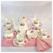 Shelley China Coffee Set