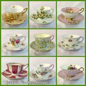 Shelley Teacups and Saucers