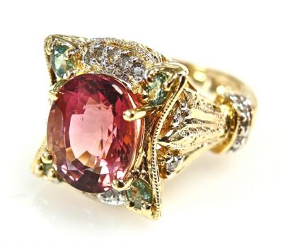 Vintage Tourmaline Ring CFA1504137 79358 b-cc