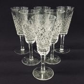 "Vintage Waterford ""Alana"" Champagne Flute Glasses"