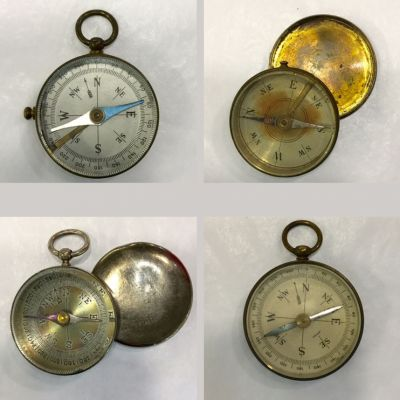 Vintage   Antique Pocket Compasses