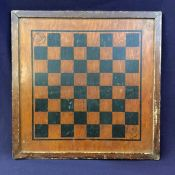 Vintage Painted Chessboard