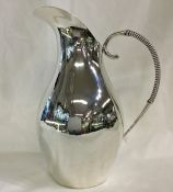 Vintage Sterling Silver Water Pitcher
