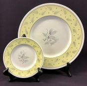 "Wedgwood ""Windrush Yellow"" Pattern W3973"