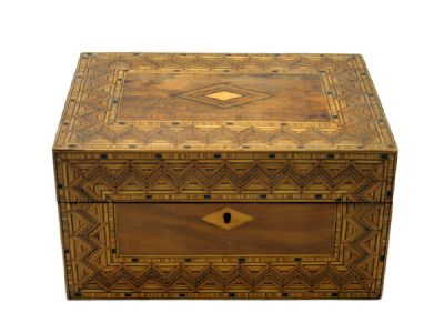 Wooden Victorian Box with Inlay 2