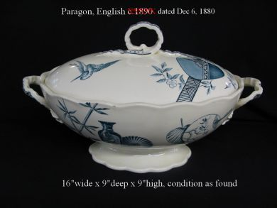 soup tureens/porcelain/Paragon
