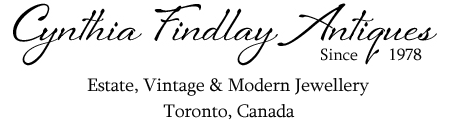 Antiques & Fine Jewellery In Toronto | Cynthia Findlay Antiques