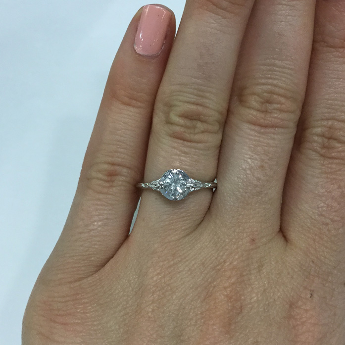 Custom Vintage Style Engagement Rings & Custom Jewellery Toronto