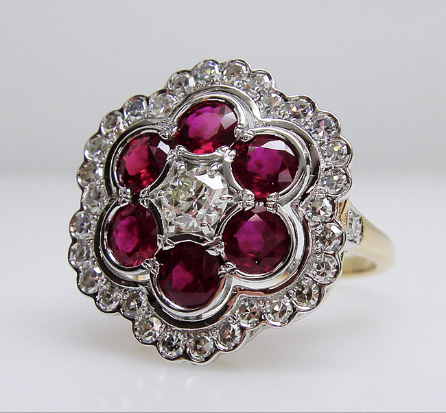 Custom Made Antique Vintage Style Ring Toronto