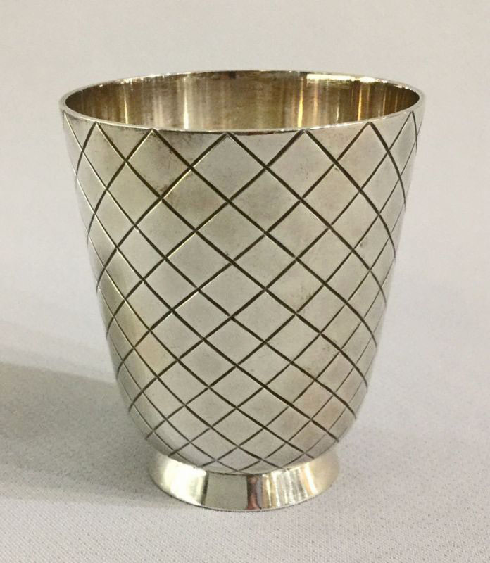 Vintage Georg Jensen Sterling Silver Shot Glass