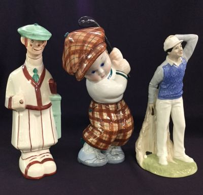 Vintage Golf Figurines