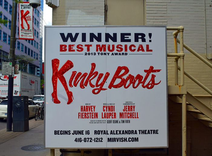Kinky Boots Sign