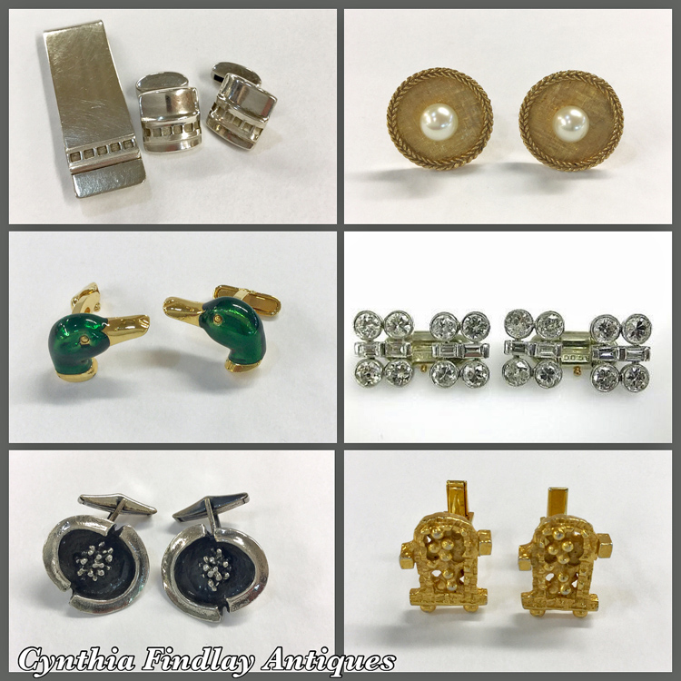 Fathers-Day-Gift-Guide-Antique-Vintage-Cufflinks