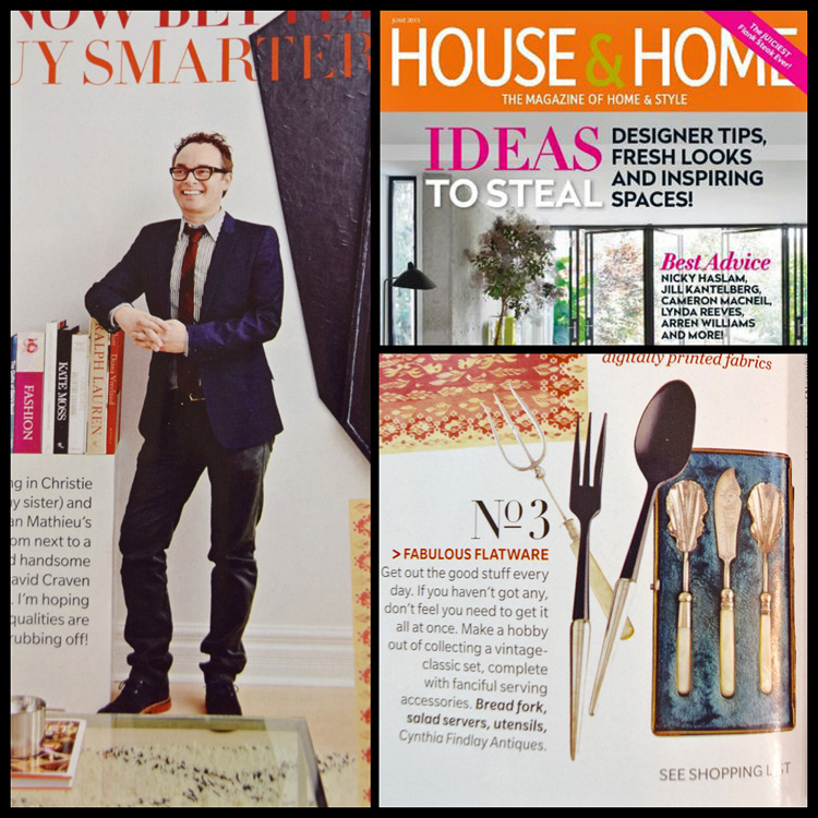 Tommy Smythe's List of Eight - Fabulous Flatware - House & Home