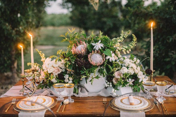 antique and vintage wedding/bridal table setting toronto