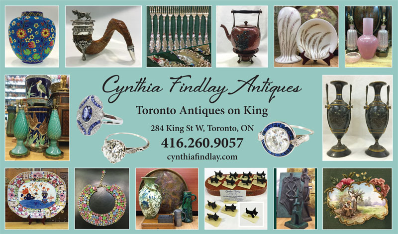 Canadian Antiques and Vintage Magazine October Ad