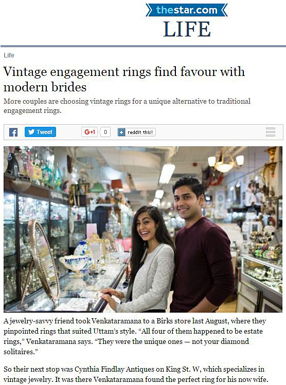 Vintage-Engagement-Rings-Finds-Favor-With-Modern-Brides-Toronto-Star-Cynthia-Findlay-Antiques