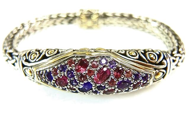 John Hardy Multi Stone Bracelet