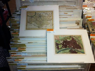 Antique and vintage maps